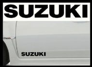 SUZUKI CAR BODY DECALS